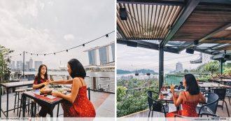 waterfront restaurants singapore