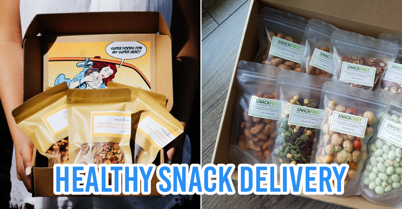 healthy snack deliveries singapore