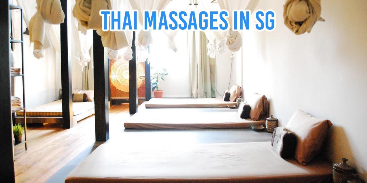 Thai Massage Parours in Singapore