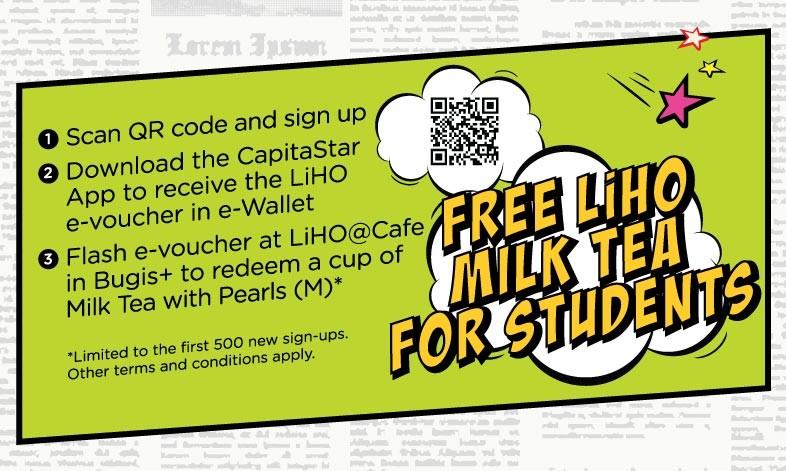 liho milk tea promo