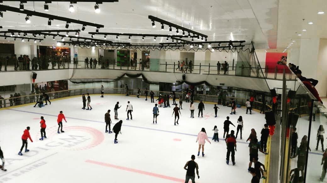 kids activities children things to do johor bahru jb blue ice skating rink