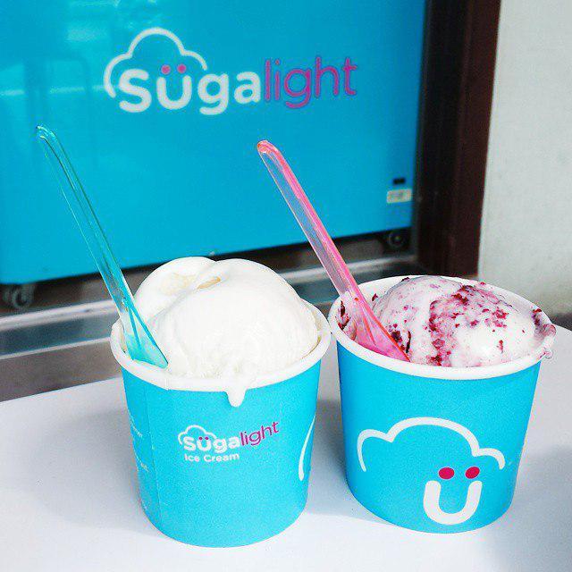 Sugalight ice cream