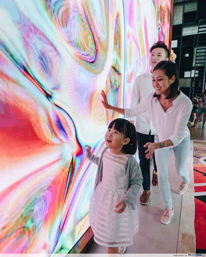 JW Marriott Singapore South Beach art displays