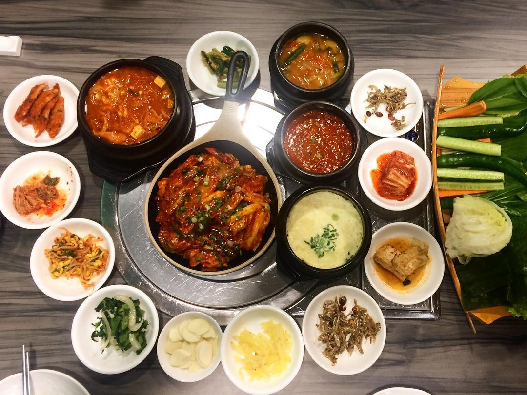 Little Korean food