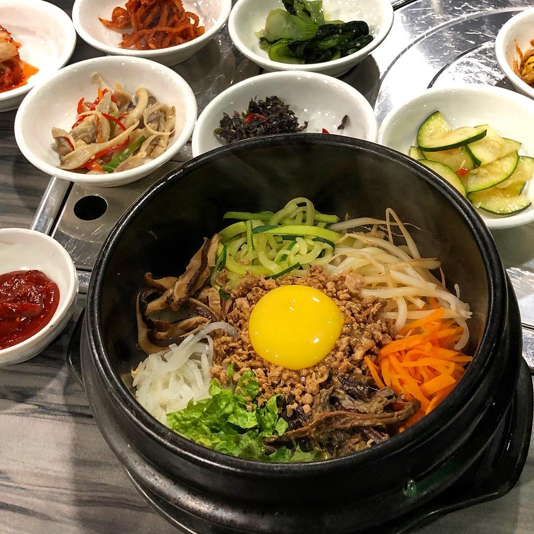Dolsot Bibimbap at Little Korea