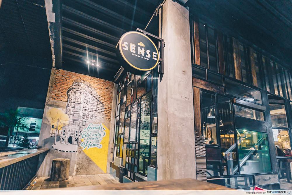 Sense Cafe exterior
