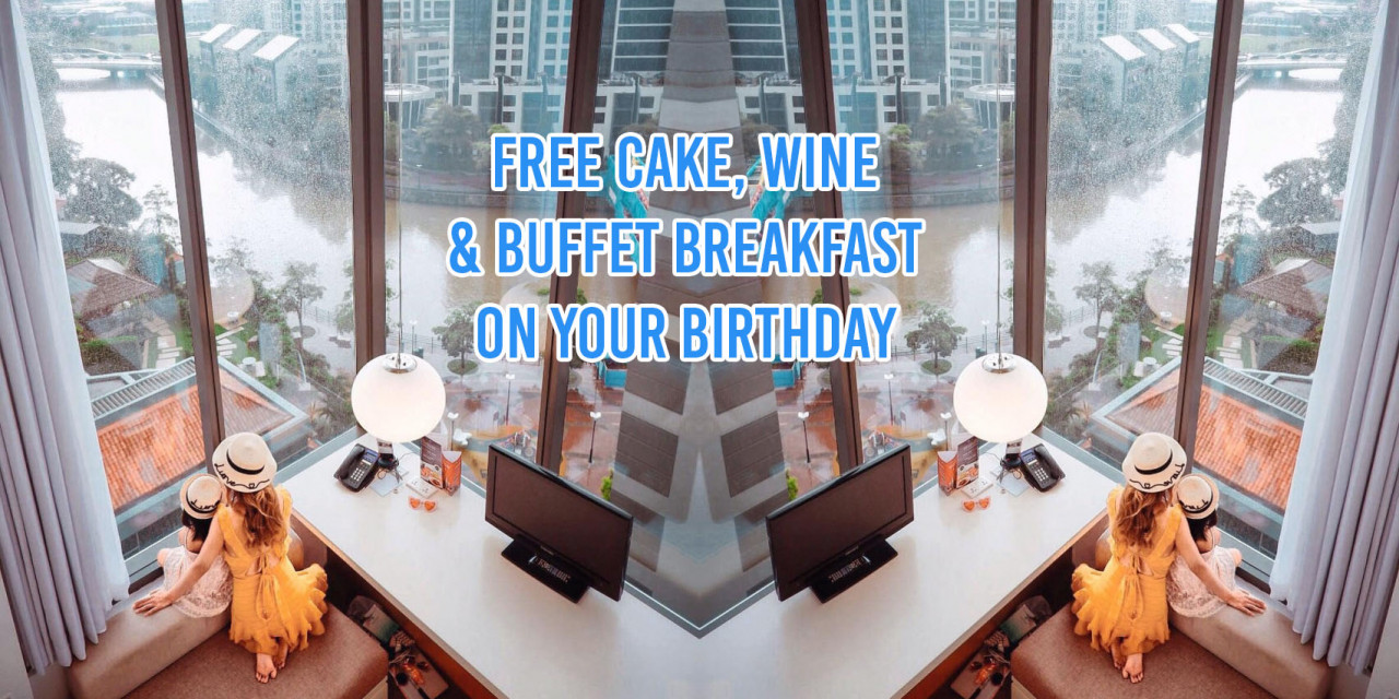 Hotel birthday perks Singapore
