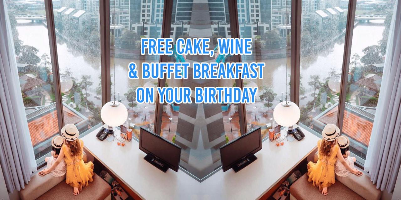 Hotel birthday perks Singapore