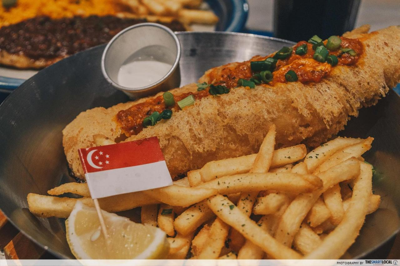 singapore fish and chips