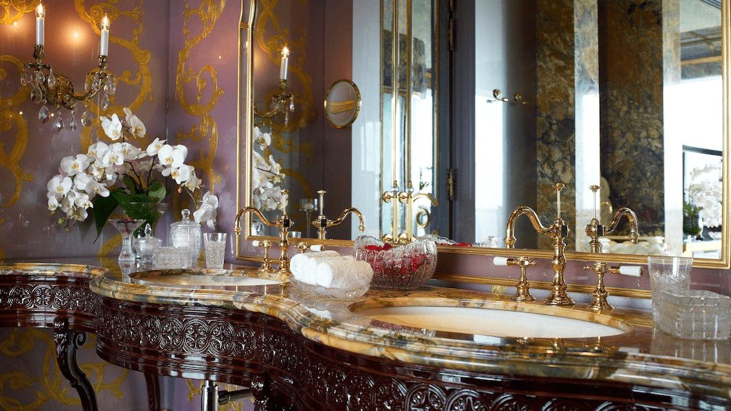 st regis presidential suite bathroom