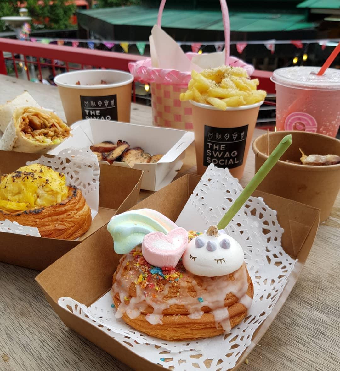 market on wheels food spread