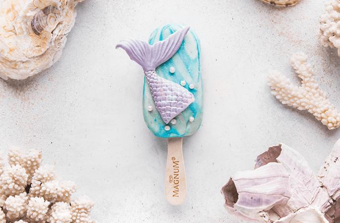 magnum mermaid ice cream