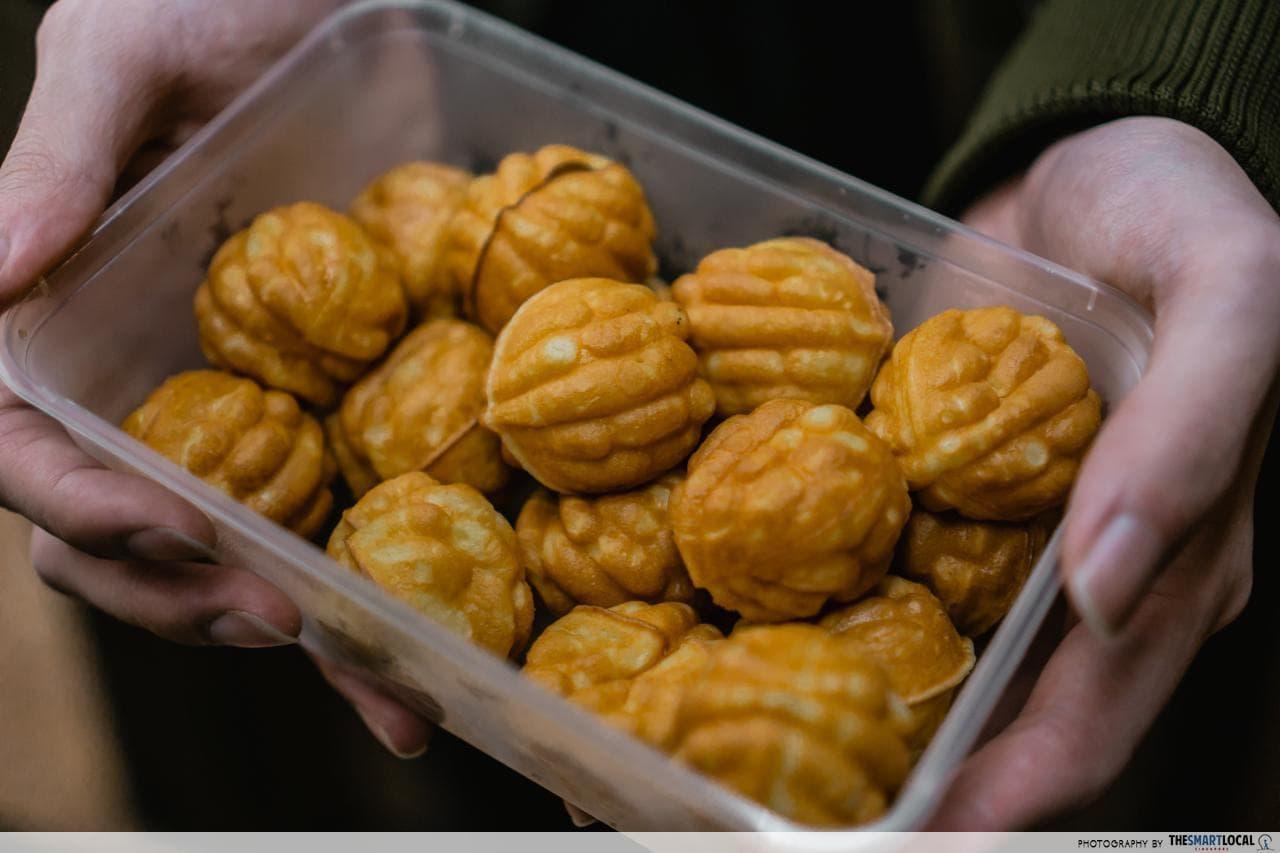 emperor's custard puffs