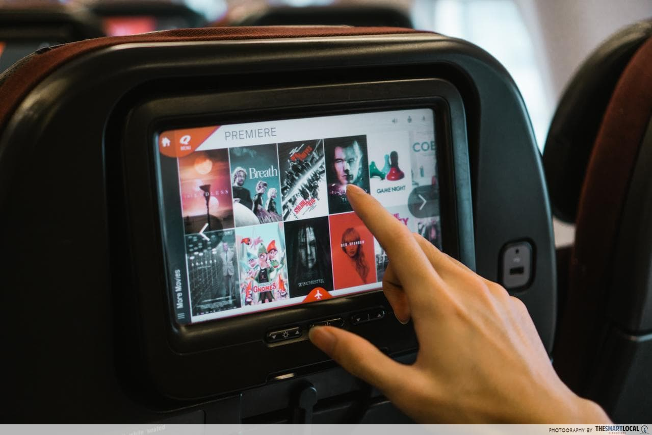 qantas in-flight entertainment