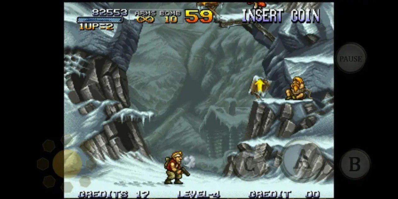 Retro Games App - Metal Slug
