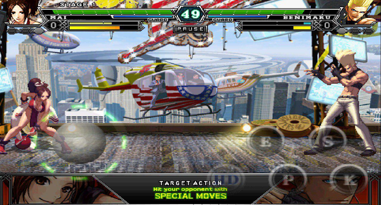 Retro Games App - King of Fighters
