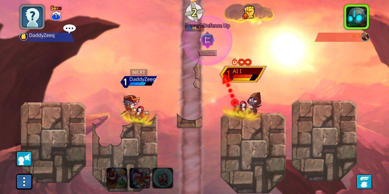 Retro Games App - Gunbound M