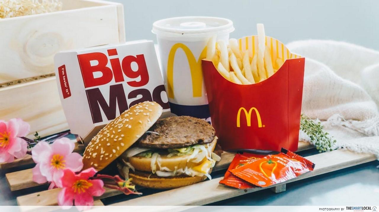 Big Mac 50 - Big Mac Extra Value Meal
