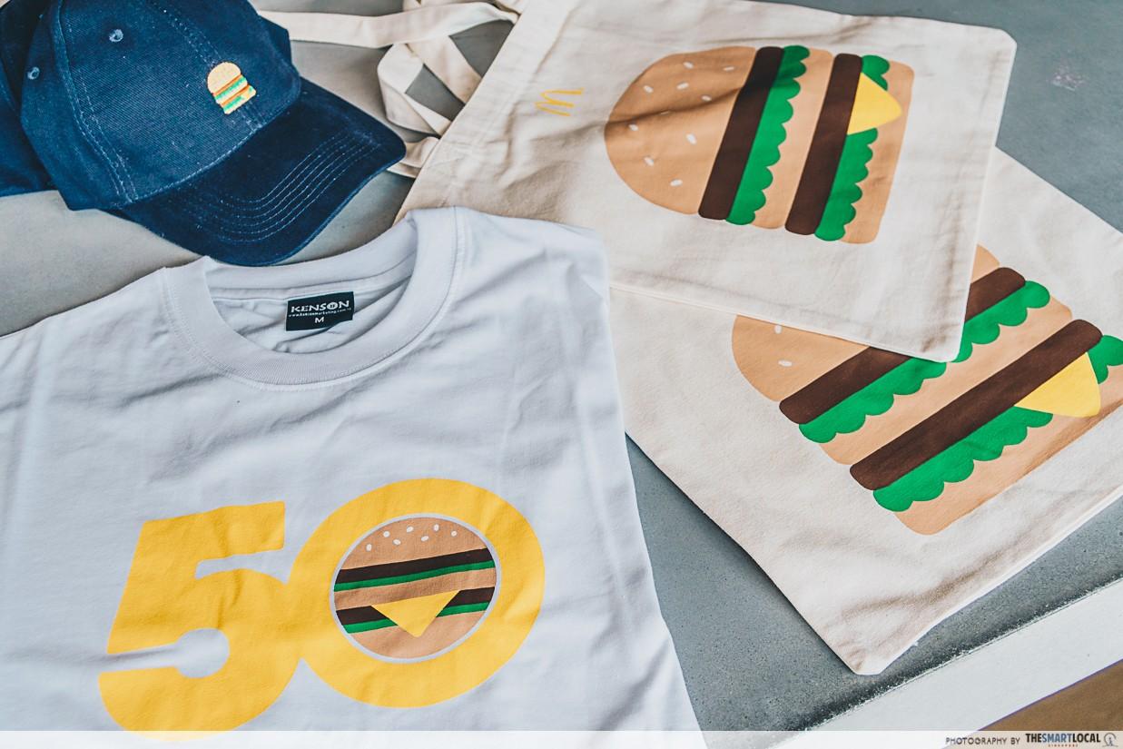big mac 50 shirt cap