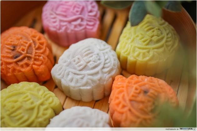 Wan Qing Mid-Autumn Festival 2018 - snowskin mooncakes
