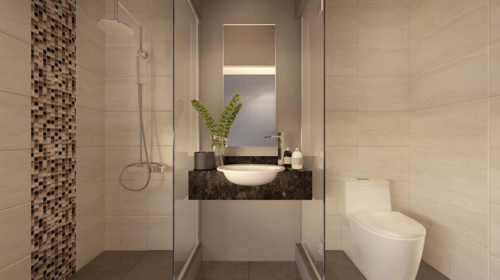 the square hotel bathroom
