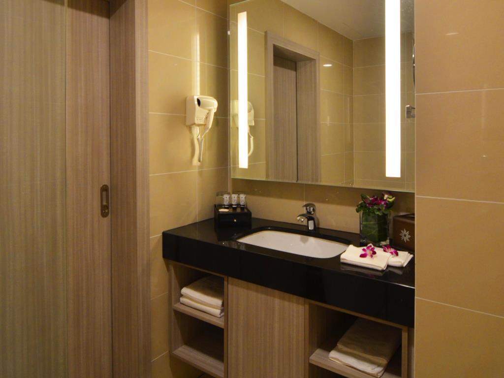 v8 bathroom