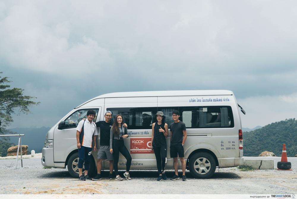 klook thailand car rental
