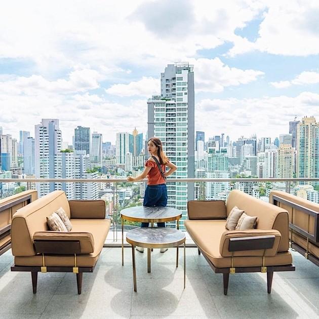 The Marble Bar in Bangkok - city views