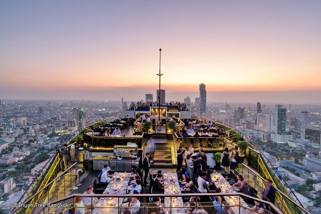Moon Bar - rooftop bars in Bangkok