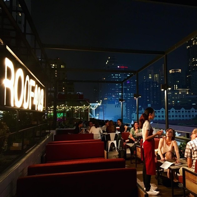 Rooftop bars in Bangkok - Roof 409 Bar & Bistro