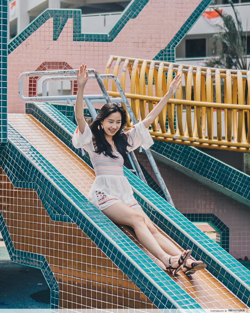 dragon playground slide