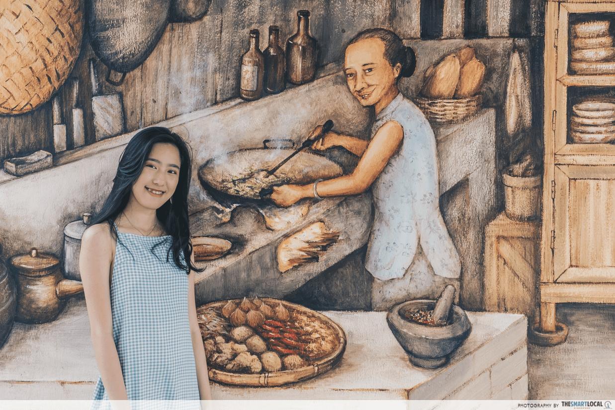kampong mural kitchen