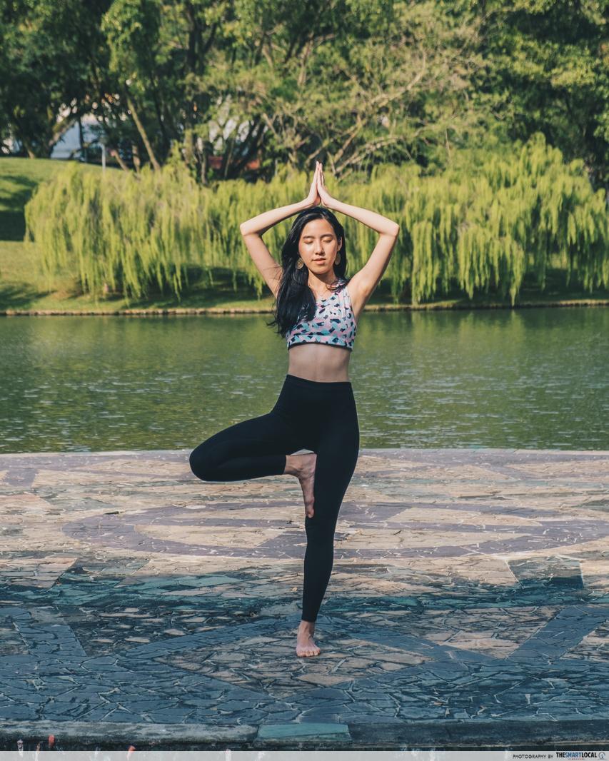 yoga pond