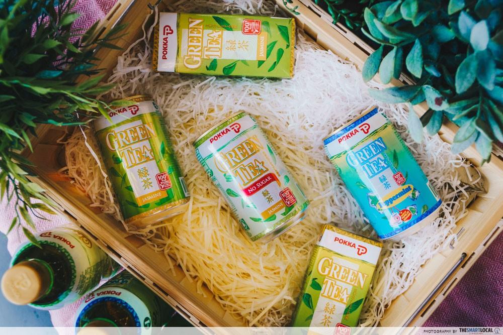 POKKA Jasmine Green Tea - catechins for health