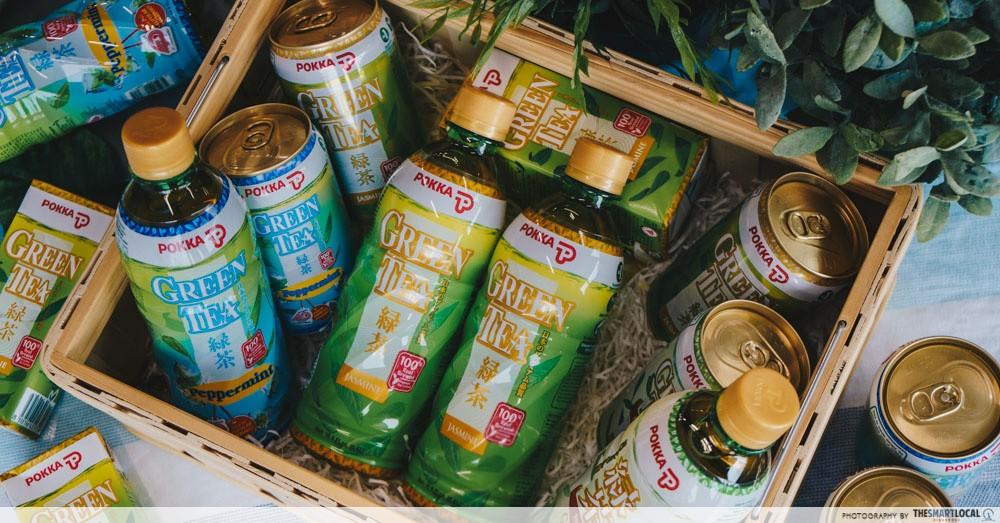 POKKA Green Tea - catechins - health benefits
