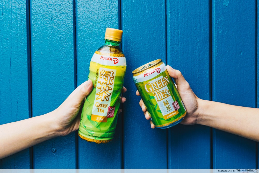 POKKA Jasmine Green Tea - health benefits