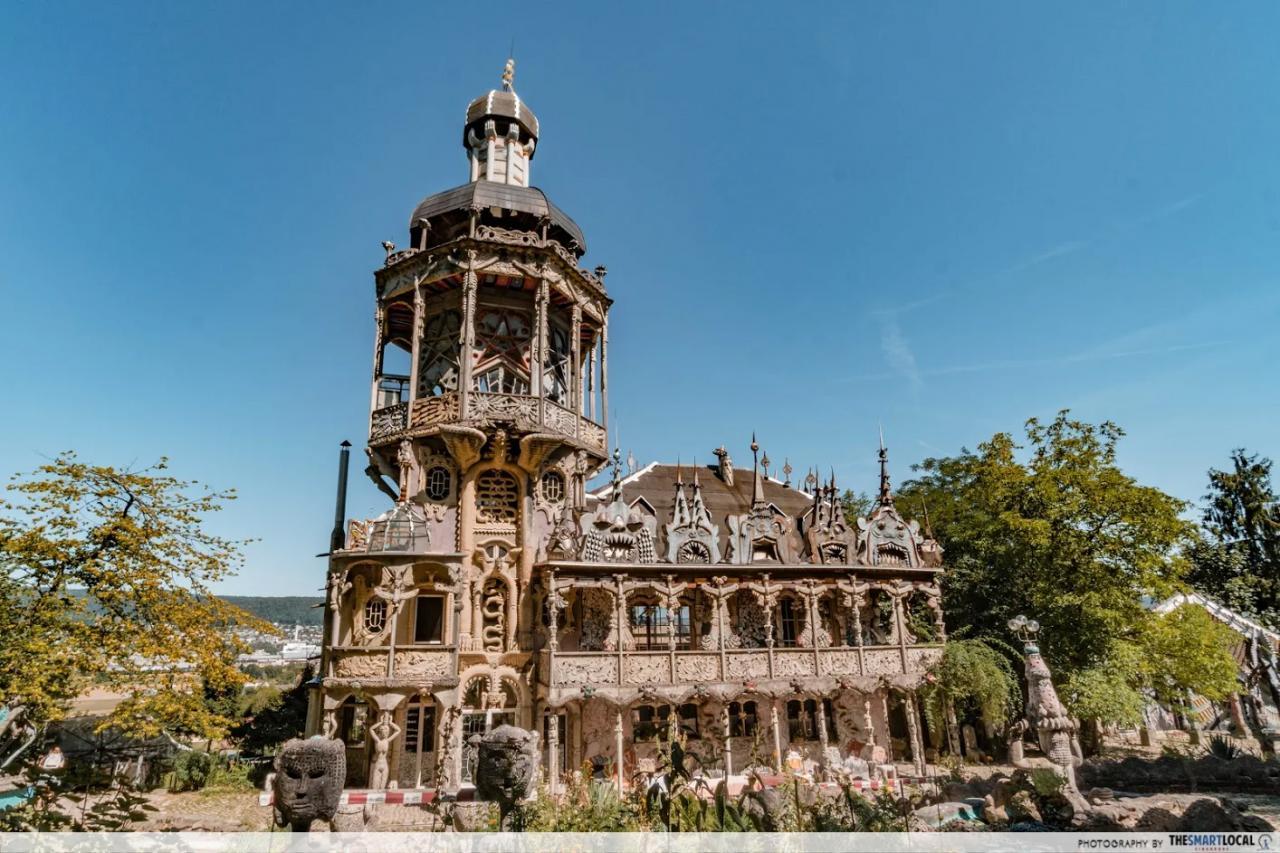 Bruno Weber Park castle