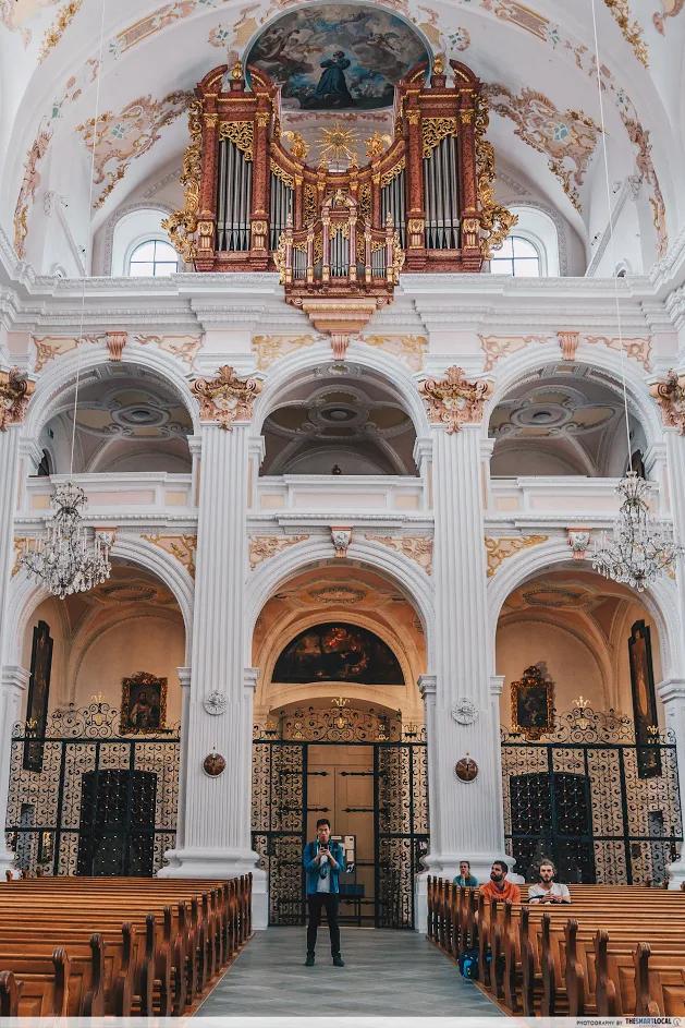 jesuitenkirche main organ