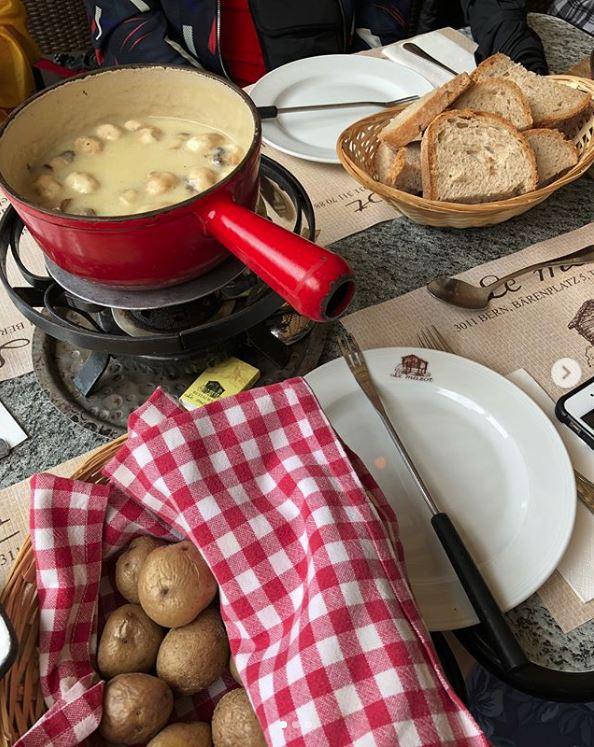 le mazot restaurant cheese fondue