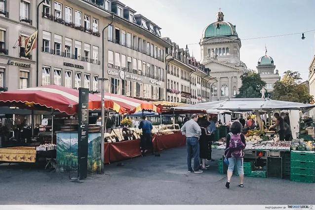 bundesplatz market bern