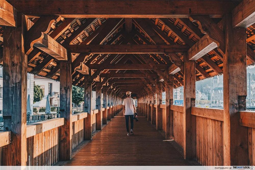 chapel bridge wakway