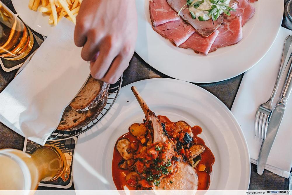 rosengarten restaurant dinner menu