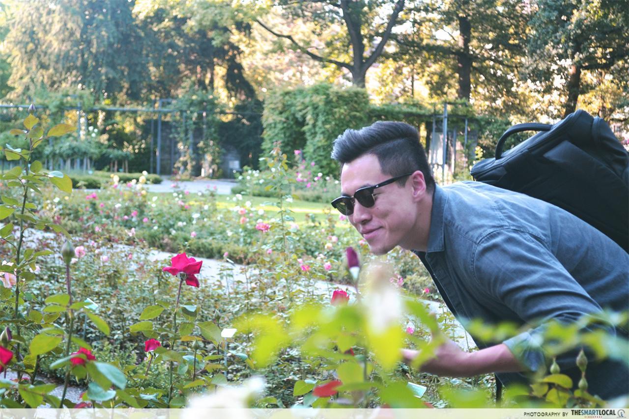 rosengarten rose garden bern
