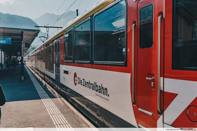 trains swiss travel pass