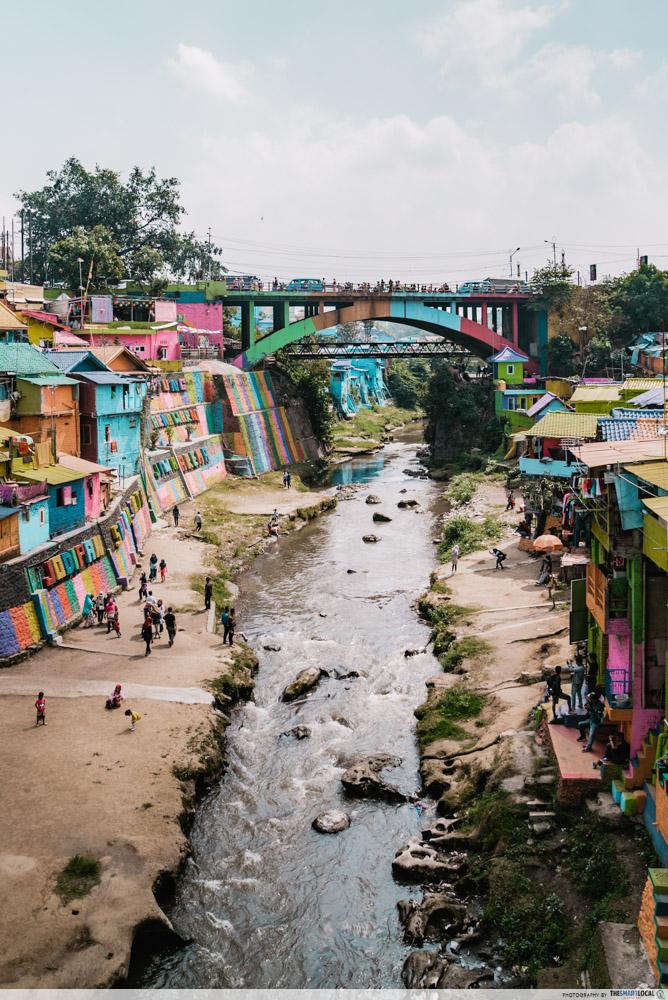 rainbow village stream