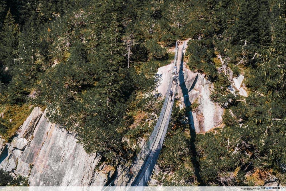 Handeggfall Hanging Bridge, Grimselwelt