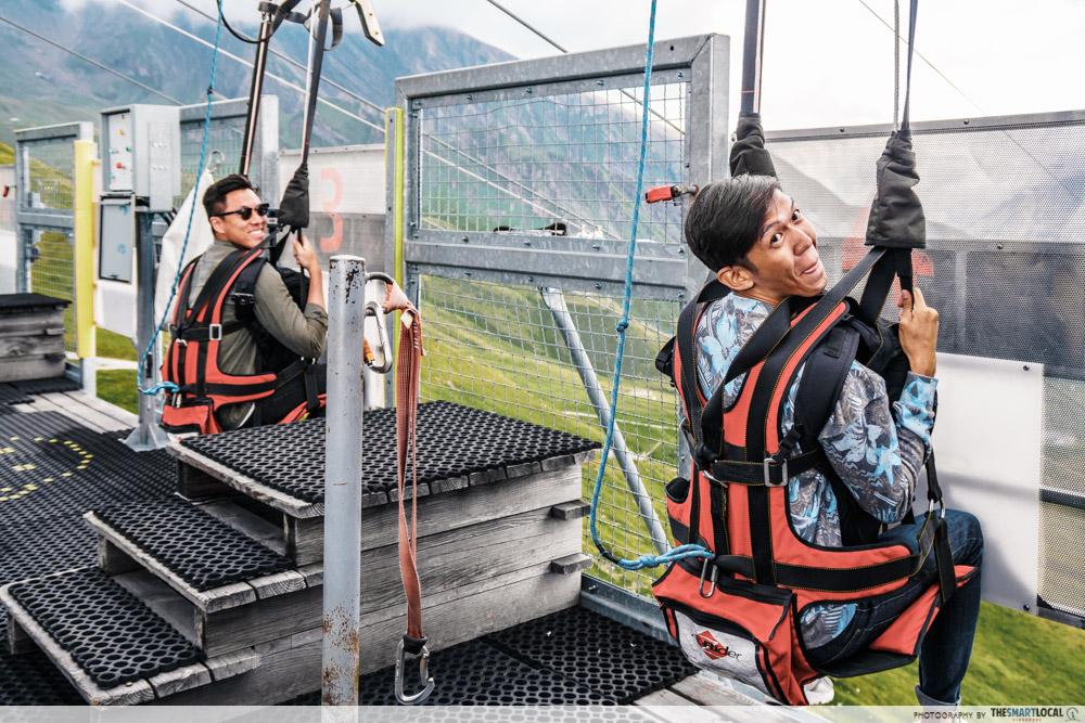 Grindelwald First First Flyer in Switzerland