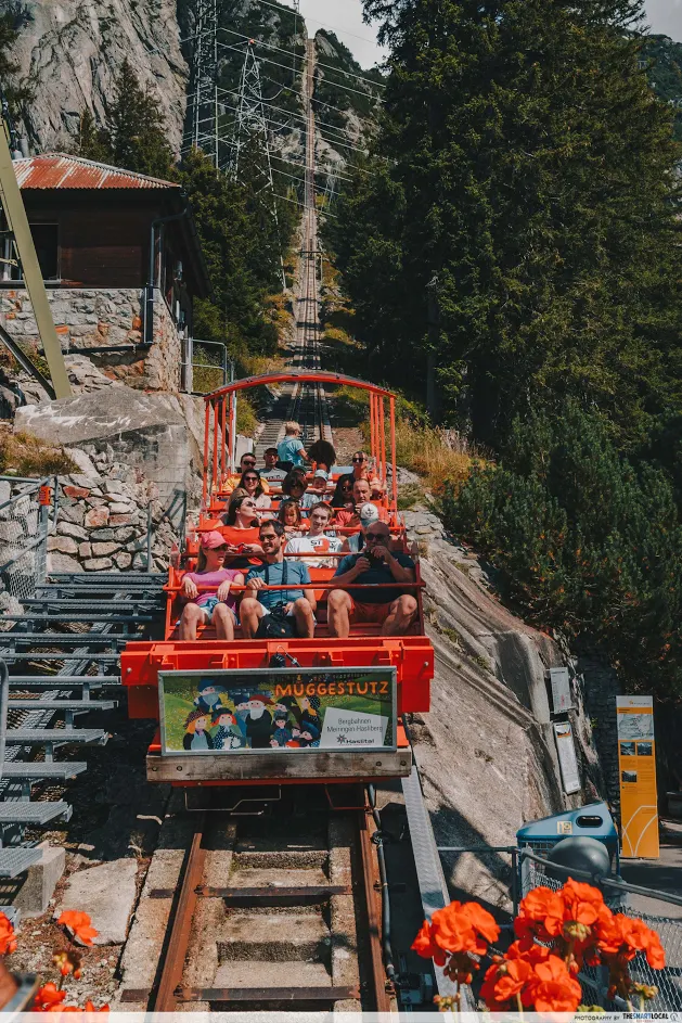 Gelmer Funicular, Switzerland