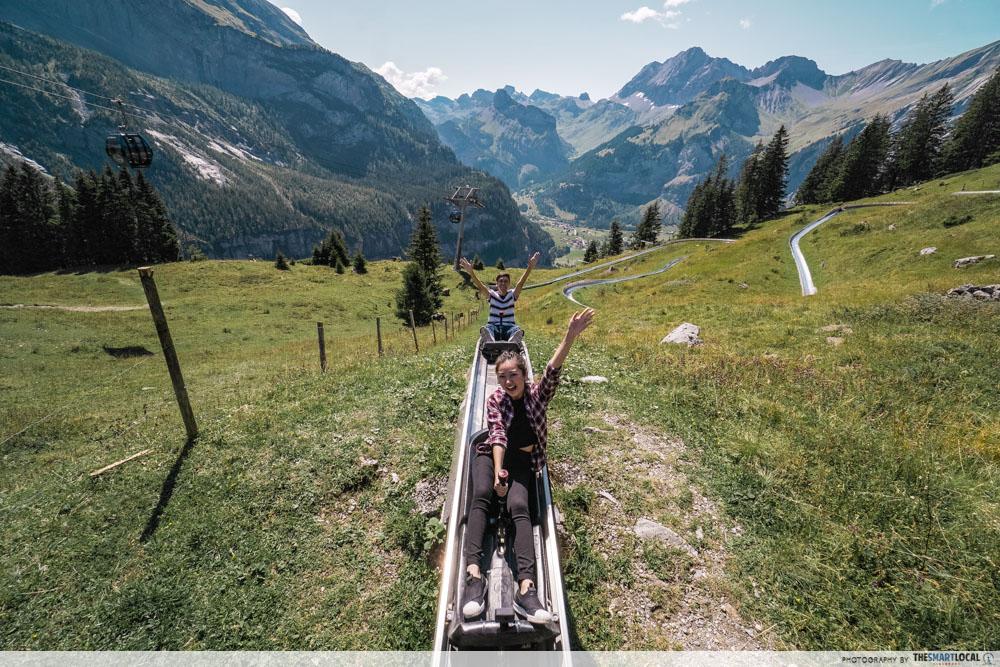 Oeschinensee Alpine Slide Switzerland