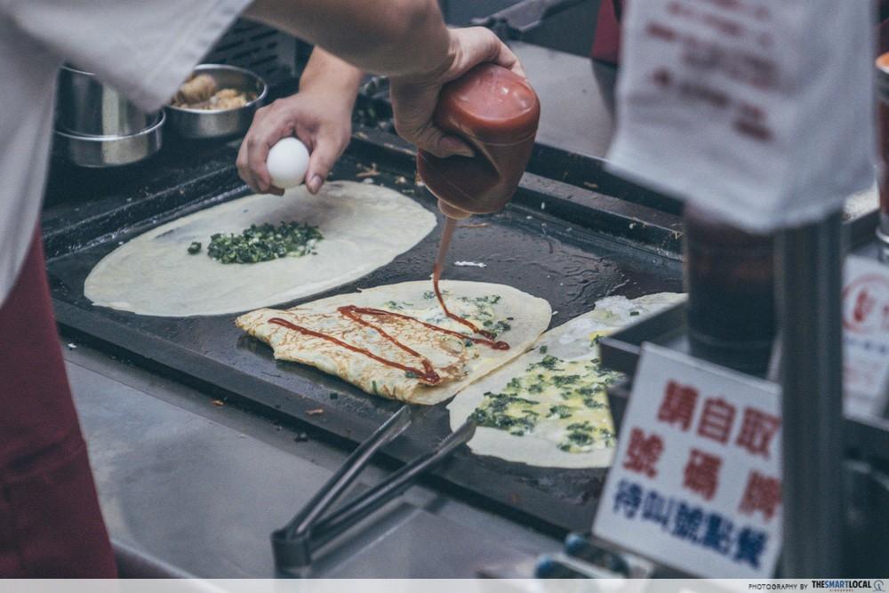 Feng Jia Night Market Taichung MingLun Pancake